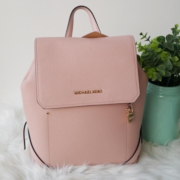 0b500fba9000 Michael Kors Bags   Michael Kos Pink Hayes Backpack Large   Poshmark